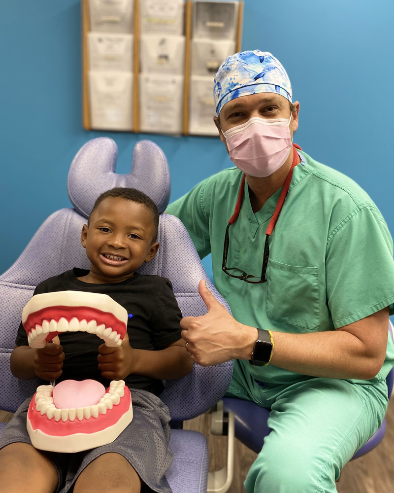 Dr. McAlexander & Patient