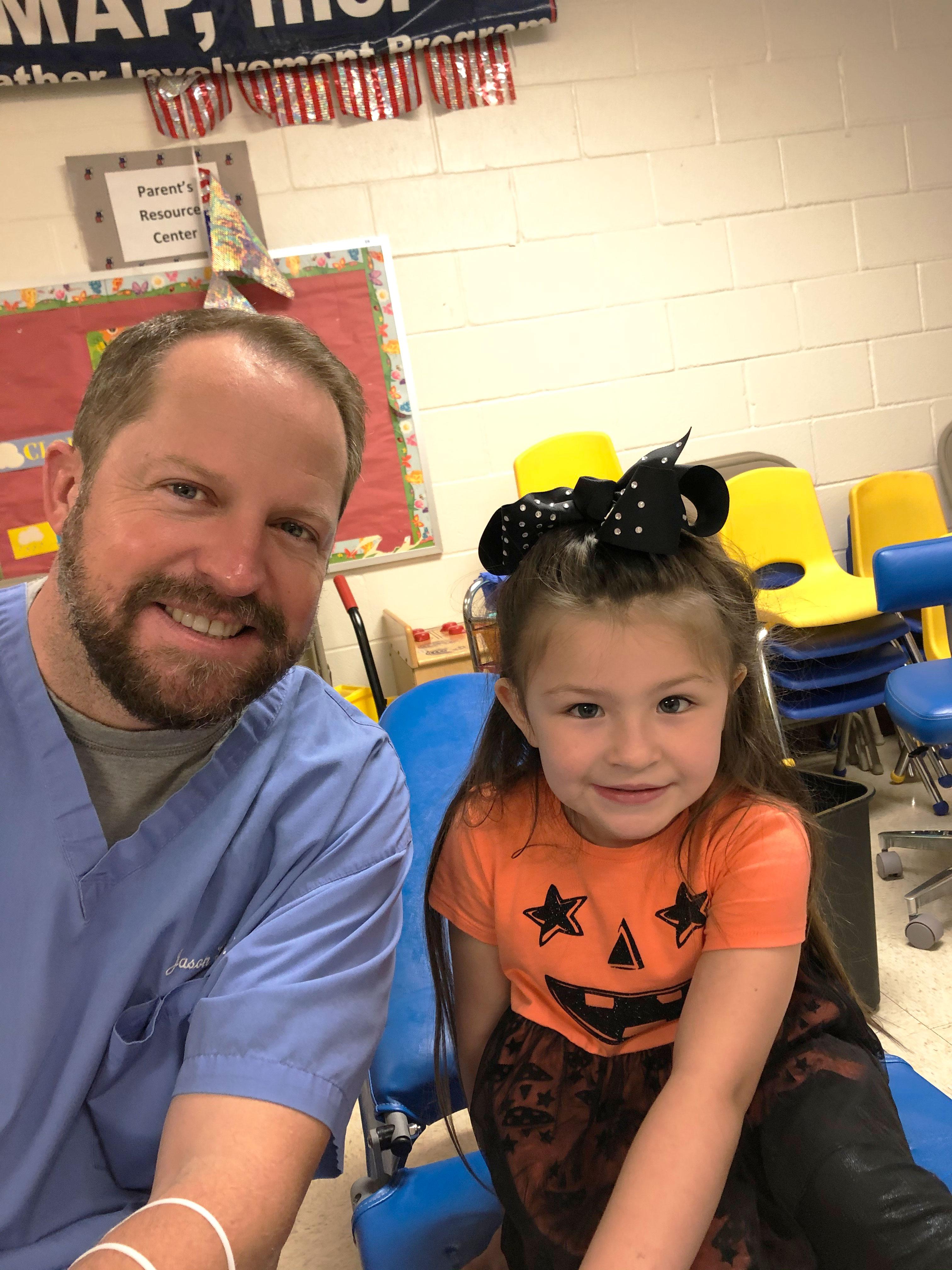 Dr. Leach & Patient